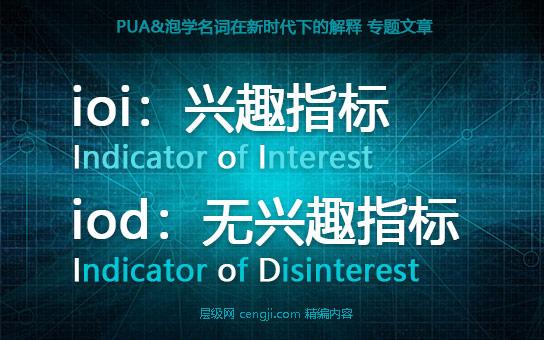 ioi兴趣指标iod无兴趣指标