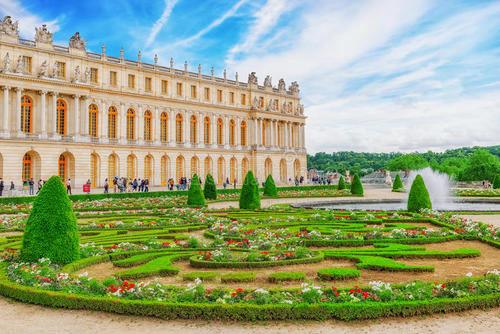 凡尔赛宫的图
